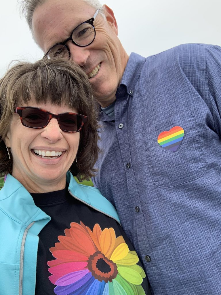Anita, Mitch Richards, Pride, event , whidbey island